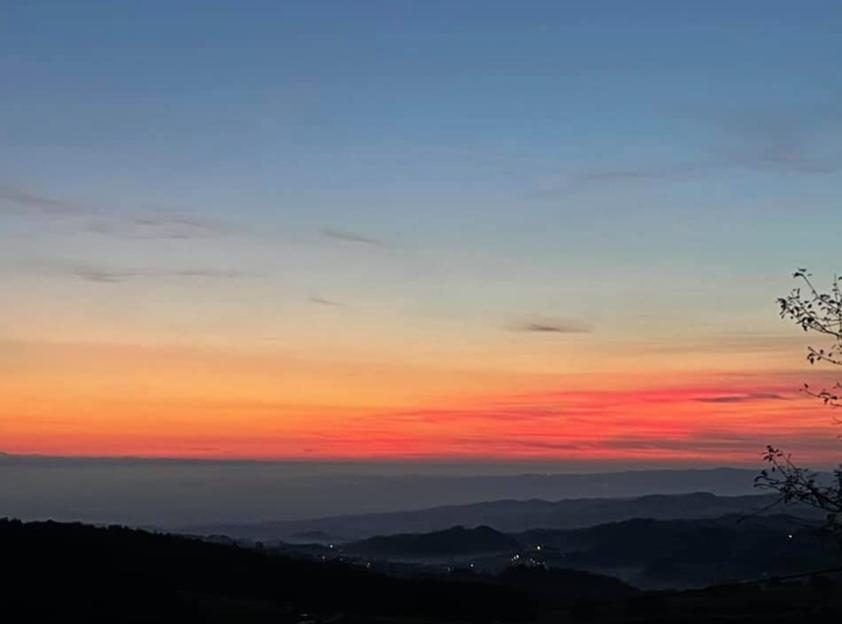 Sonnenuntergang - Angst und Mut